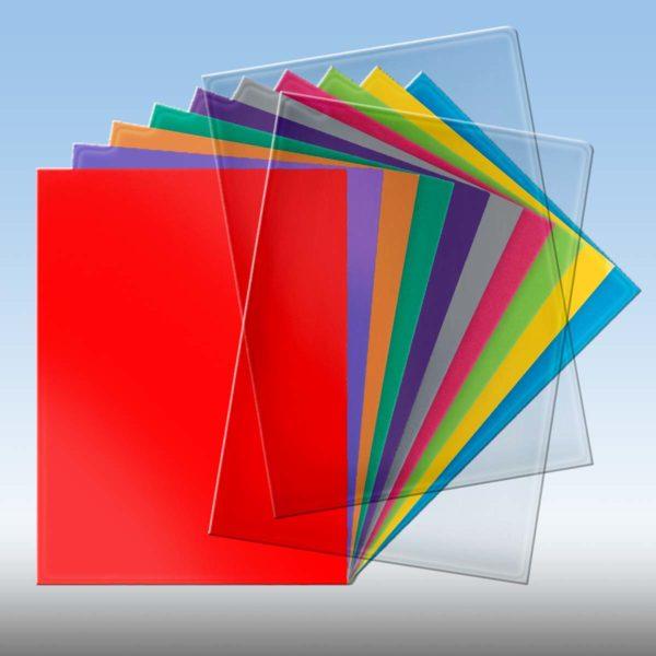 Pochette de couleur